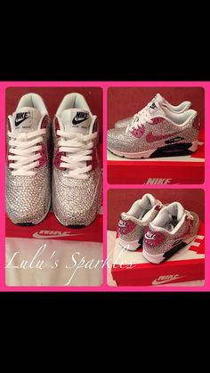 timeless design d0b7b fad57 Crystallised trainers by LulusSparkles on Etsy,  240.00 Trainers, Shoe  Boots, Sweatshirt, Sneakers