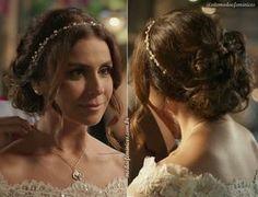 "Penteado de noiva da Alice de ""Sol Nascente"" – Giovanna Antonelli | http://modaefeminices.com.br/2017/03/10/vestido-de-noiva-da-alice-de-sol-nascente/"