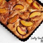 Salty+Vanilla+&+Peach+Focaccia