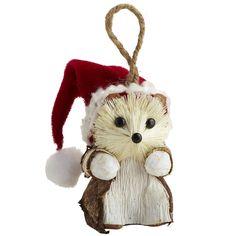 Nature's Merriment: Pier 1 Natural Hedgehog Ornament