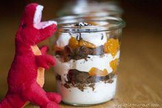 Ein einfacher Nachtisch mit Mandarinen, Cookies und einer Quarkcreme von www.meinkleinergourmet.de
