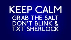Supernatural, Doctor Who, and Sherlock -  3 of my favorite shows!