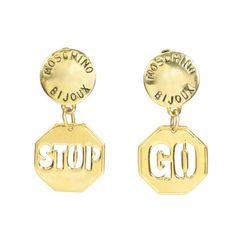 Stop Go Earrings