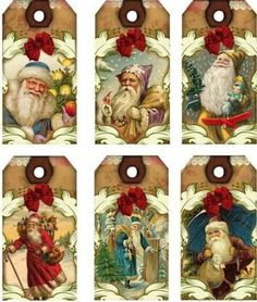 12-HANG-GIFT-TAGS-PRIMITIVE-CHRISTMAS-IMAGES-506-A