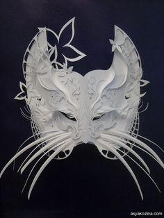 https://www.behance.net/gallery/7225217/Mask-from-paper