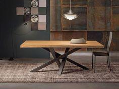 Tavolo saliscendi ~ Riflessi tavolo shangai piano in legno tables metals and