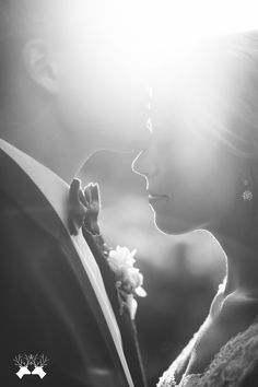 Gorgeous black and white bridal portraits | Paper Antler
