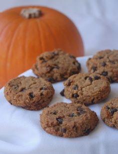 Almond meal pumpkin cookies