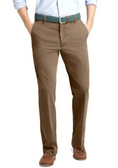 IZOD Dusty Gravel Straight Fit Saltwater Chino Flat Front Pants