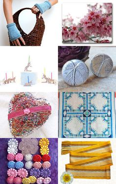 Blooming Spring by Raven in the Dogwood on Etsy--Pinned with TreasuryPin.com
