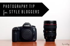 photography tip for style bloggers