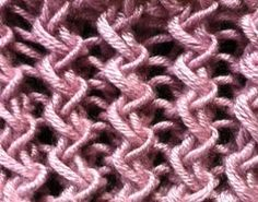 Sample knit with Araucania Ruca on US Size 6 needles   I think this is my new favorite rib stitch!  How cool is that zig zag effect?!  The...