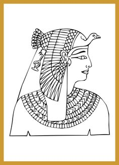 How to Draw an Ancient Egyptian Portrait
