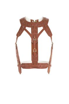 Leather Harness Fashion - Designer Leather Harnesses for Women - Elle