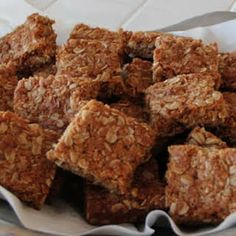 Crunchies - Traditional South African Oatmeal Cookie Bars Recipe | Yummly