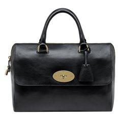 Mulberry - Del Rey in Black Soft Spongy Leather Coach Bags Sale, Bag Sale, Mulberry Purse, Sacs Design, Bowling Bags, Shoulder Handbags, Shoulder Bags, Leather Purses, Leather Bags