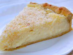 Recette Dessert : Tarte au flan à la noix de coco par PtitecuisinedePauline