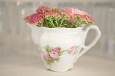 teacup vase usage in addition to teapots