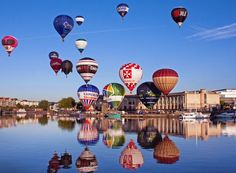 Bristol Balloon Fiesta could be forced to move due to council cash demands Bristol Balloons, Bristol Balloon Fiesta, Travel Competitions, Holiday Competitions, Bristol Attractions, Bristol England, London England, British Holidays, Visit Britain