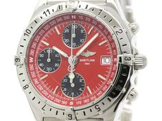 Polished #BREITLING Chronomat Longitude Steel Automatic Watch A20048 (BF107589): #eLADY global offers free shipping worldwide. For more pre-owned luxury brand items, visit http://global.elady.com