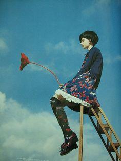 Jane Marple April / 2008 裝苑 SO-EN fashion magazine | via C H U A N