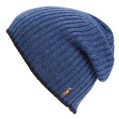 d3a95add103b Men s Polo Ralph Lauren Classic Merino Wool Cap ( 45) ❤ liked on Polyvore  featuring men s fashion, men s accessories, men s hats, shale blue hthr, ...