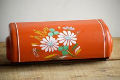 Vintage Ransburg Mailbox Cover - Handpainted Mailbox Cover - Rustic Country Style  Floral Painted Daisies mail box cover by VintageFlicker