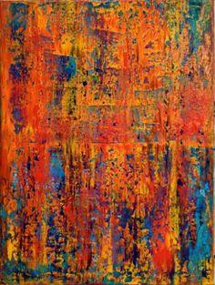 """Saatchi Art Artist Nestor Toro; Painting, """"Neon Spectra ii"""" #art"""