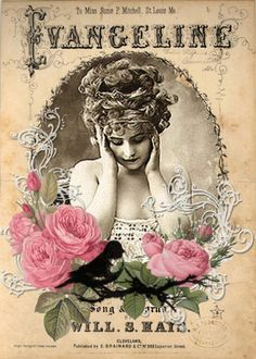 vintage images free printables - vintage images - vintage images printable - vintage images free - vintage images retro - vintage images pretty things - vintage images black and white - vintage images of women - vintage images free printables Decoupage Vintage, Vintage Abbildungen, Vintage Rosen, Images Vintage, Vintage Labels, Vintage Ephemera, Vintage Pictures, Vintage Cards, Vintage Paper