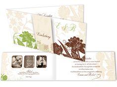 Foto Hochzeitskarten - Retro Chic Ornaments Vintage Stil, Retro Chic, Ornaments, Wedding, Pictures, Invites Wedding, Monogram, Champagne, Card Wedding