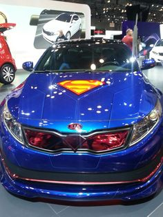 Superman kia optima Hood #Kia #Optima #Rvinyl