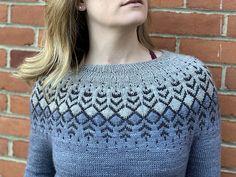 Ravelry: Darkwater pattern by Jennifer Steingass Ravelry, Crochet Top, Chevron, Free Pattern, Pullover, Knitting, Chic, Sweaters, Stuff To Buy