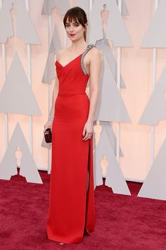 Dakota Johnson Oscars 2015 Best Dressed