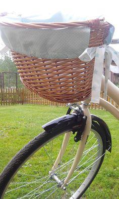 #Bike bascet #koszyk do roweru #wyściółka do koszyka #materiał do koszyka #rower miejski #holenderka