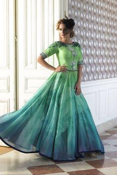 Designer Salwar Kameez Indian pakistani Anarkali dress Bollywood Traditional b3