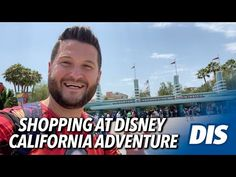 Shopping at Disney California Adventure - YouTube Disney California Adventure, Disneyland Resort, Tours, Youtube, Fun, Shopping, Youtubers, Youtube Movies, Hilarious