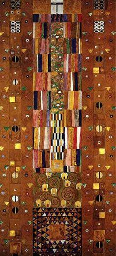 GUSTAV KLIMT VIENNA SECESSION | Gustav+Klimt+-+Stocletfrieze+1905-09+-+Vienna+Secession+.JPG