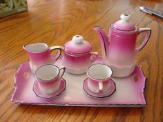 Made in Germany Vintage Mini Tea Set Antique | eBay