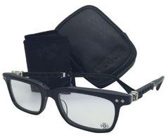 4881813e30b Chrome Hearts Folding CHROME HEARTS Eyeglasses FUN HATCH II BK-F 52-18 Black