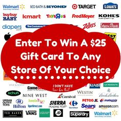 Enter to #win a $25 gift card to any store you choose! #Giveaway Ends 5/30 https://wn.nr/bJYAqd