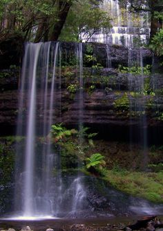 One day I wanna stand behind a gorgeous waterfall. How magical, exotic, breathtaking.