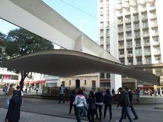 Praça do Patriarca em São Paulo, SP
