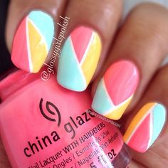 Instagram photo by glossygirlspolish #nail #nails #nailart