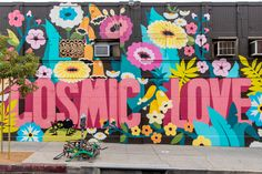 Cosmic Love Mural Los Angeles