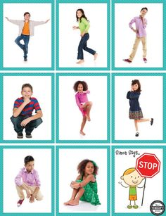 Simon Says - Body Awareness and Motor Planning Activity - Your Therapy Source Motor Skills Activities, Movement Activities, Gross Motor Skills, Therapy Activities, Physical Activities, Body Preschool, Toddler Activities, Preschool Activities, Pediatric Occupational Therapy