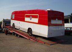1967 AEC Transporter getting transporterd itself.