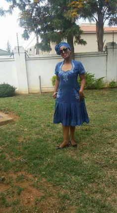 African Print Dresses, African Fashion Dresses, African Dress, African Attire, African Wear, Setswana Traditional Dresses, Shweshwe Dresses, Xhosa, Knitting Paterns