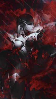 Art Drawings Beautiful, Beautiful Fantasy Art, Dark Fantasy Art, Fantasy Girl, League Of Legends Poster, Evelynn League Of Legends, Lol League Of Legends, Ahri Star Guardian, Desenhos League Of Legends