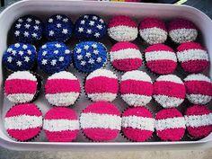 'Merica cupcakes