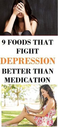 9 Foods That Fight Depression Better Than Medication!
